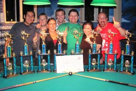 APA National Team Championships Hit-N-Hope Blue Dolphin
